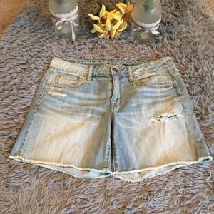 American Eagle Outfitters Cut Off Shorts Size 8